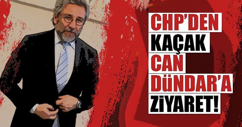 CHP'den kaçak Can'a ziyaret