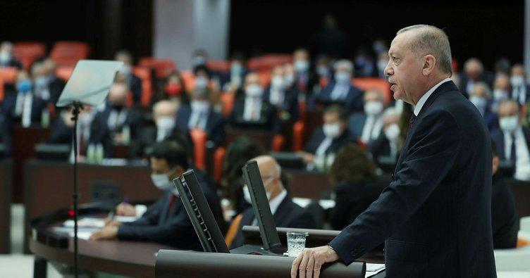 Başkan Erdoğan'dan TBMM'de yeni anayasa mesajı: En güzel 2023 hediyesi olacaktır