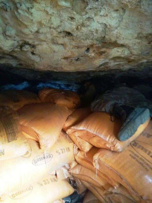 PKK'ya ait sığınakta 7 ton patlayıcı bulundu