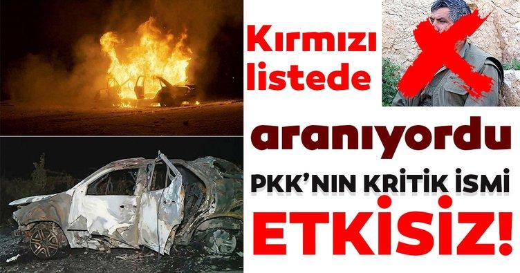 Son dakika: PKK'nın sözde Hakurk Eyalet sorumlusu Murat Kalko etkisiz hale getirildi
