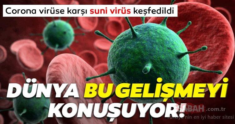 Dünya bu son dakika haberini konuşuyor! Corona virüse karşı suni virüs geliştirildi