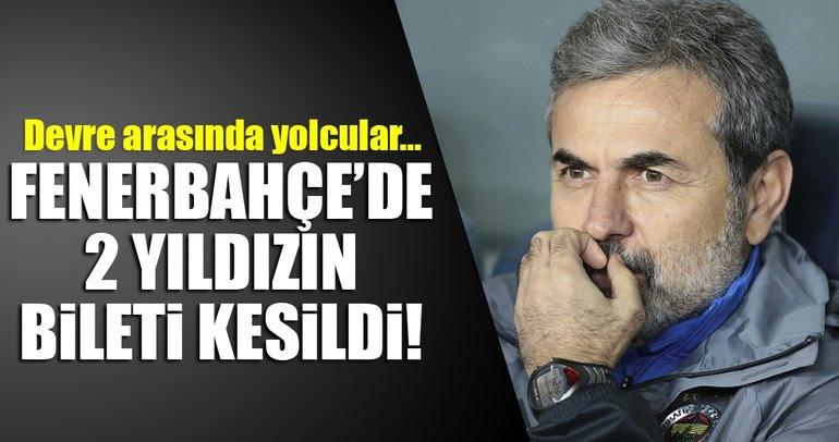 Fenerbahçe'de Ocak'ta 2 yolcu var!