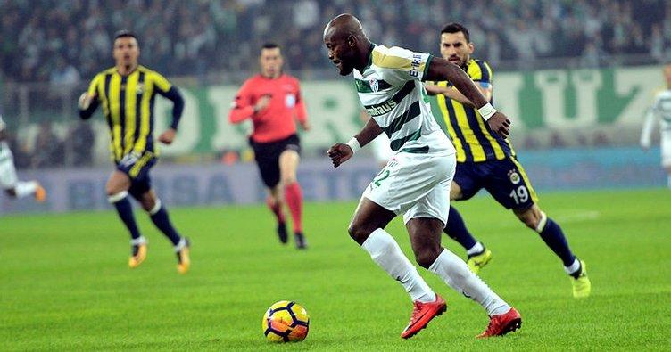 Bursaspor'da Jires Kembo şoku!