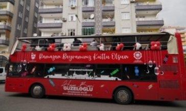 Büyükşehir Belediyesi'nden 3 dilde bayram konseri