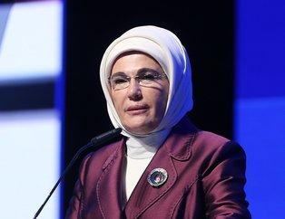 6. Sosyal Fayda Zirvesi'nde konuşan Emine Erdoğan, Yeşil Ekonomiye dikkat çekti