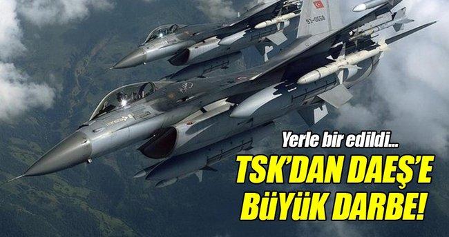 TSK'dan DAEŞ hedeflerine hava saldırısı!