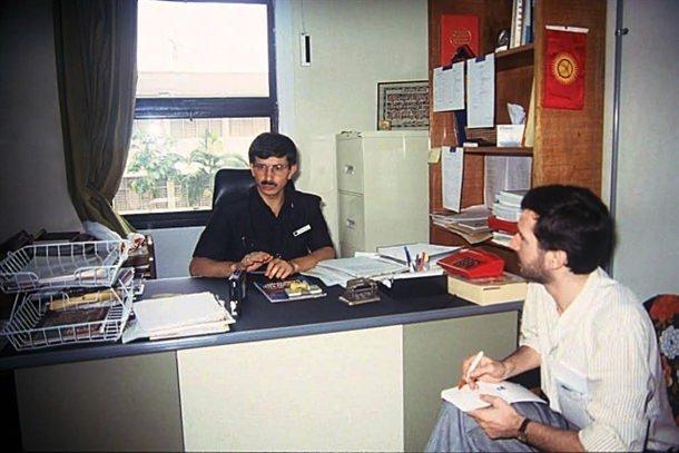Davutoğlu'nun 22 yıl önceki fotoğrafları