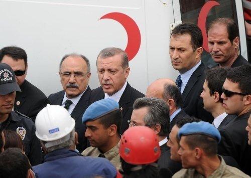 Başbakan Erdoğan Soma'da