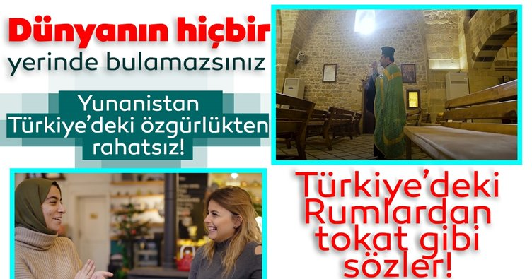 Son dakika: Yunanistan, Türkiye'deki özgürlüklerden rahatsız oldu! Türkiye'deki Rumlardan tokat gibi yanıt geldi...