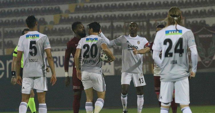 SON DAKİKA: Hatayspor - Beşiktaş maçında kazanan çıkmadı!