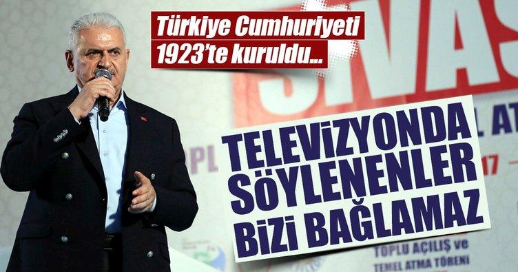 Başbakan Yıldırım'dan 'yeni devlet kuruluyor' sözlerine tepki!