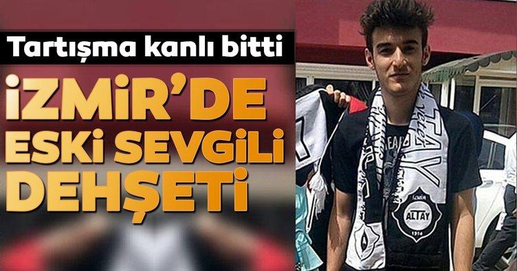 İzmir'de tartışma kanlı bitti