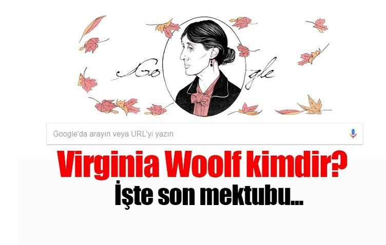 Google'dan Virginia Woolf sürprizi! - Virginia Woolf neden Doodle oldu? - İşte yanıtı