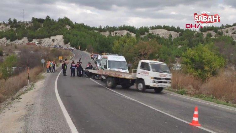 Kamyonun çarptığı traktördeki aynı aileden 3 kişi öldü