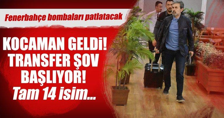 Fenerbahçe'de transfer şov başlıyor!