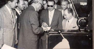Susurluk Şeker Fabrikası'nda Adnan Menderes'in kullandığı makasla sezon açılışı