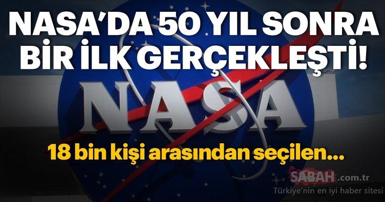 NASA'da 50 yıl sonra bir ilk gerçekleşti