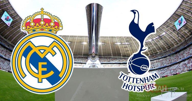 Real Madrid Tottenham maçı ne zaman, saat kaçta? Real Madrid Tottenham hangi kanalda? CANLI (AUDI Kupası)