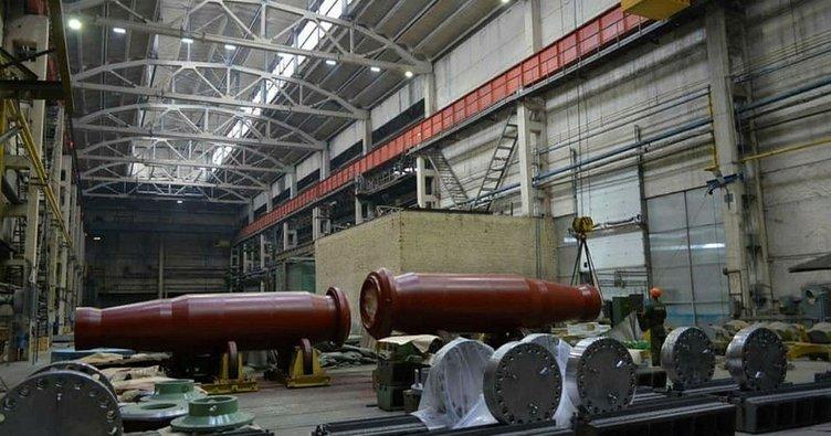 Akkuyu NGS'nin ikinci ünitesinde kullanılacak buhar jeneratörü kolektörleri sahaya sevk edildi