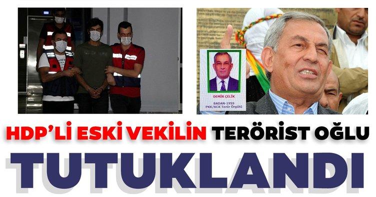 Son dakika: HDP'li eski vekilin terörist oğlu Yoldaş Selim Çelik, tutuklandı