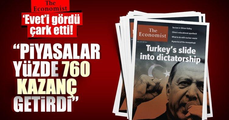 'Evet'i gören The Economist çark etti!