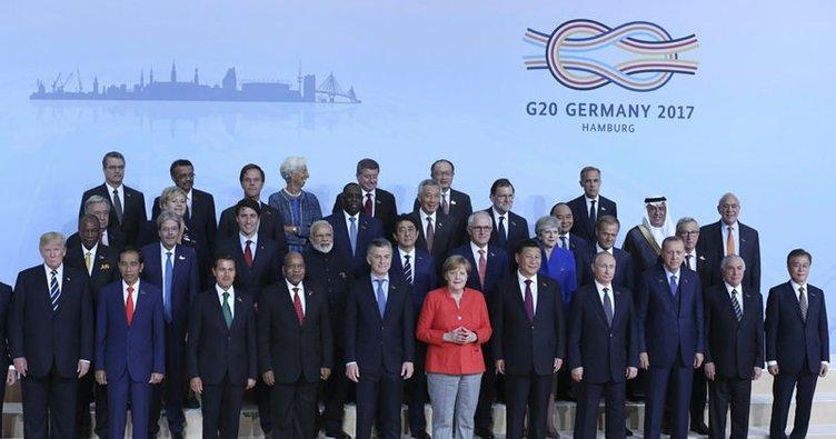 G-20'de birinci çalışma oturumuna geçildi