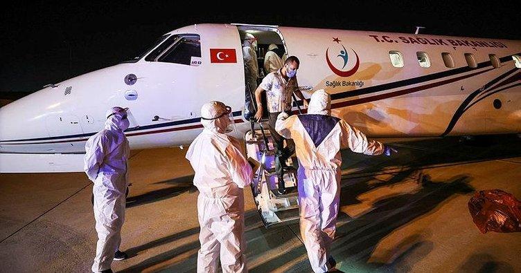 Tanzanya'da koronavirüse yakalanan 3 Türk İstanbul'a getirildi