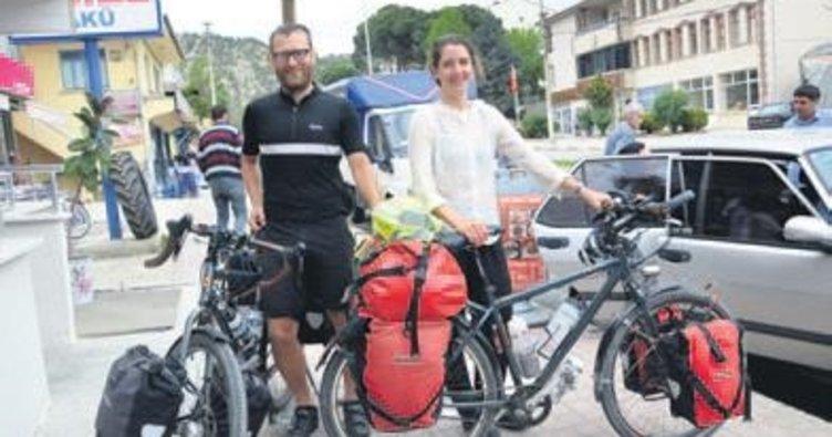 Bisikletle Çin'e