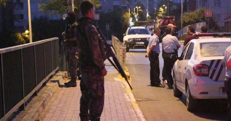 Tuzla'da polise silahlı saldırı; 1 polis hayatını kaybetti