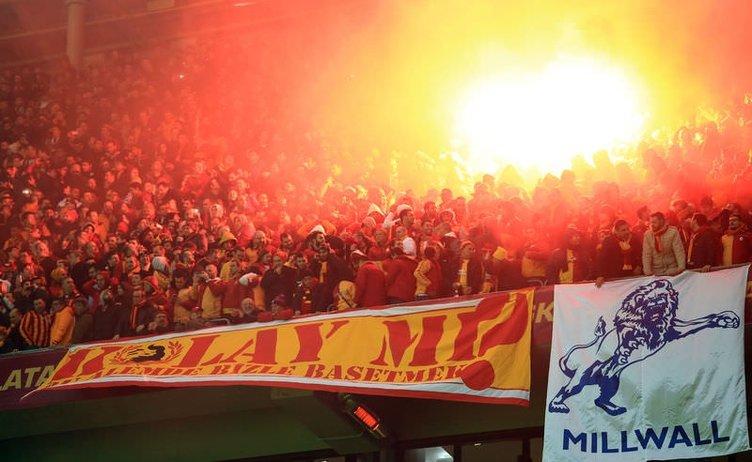 Galatasaray - Chelsea maçından kareler
