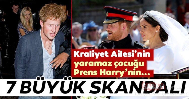 Kraliyet Ailesi'nin yaramaz çocuğu Prens Harry şaşkına çeviriyor! İşte Prens Harry'nin 7 büyük skandalı