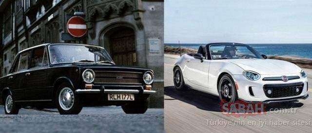 Efsane otomobillerin inanılmaz değişimi