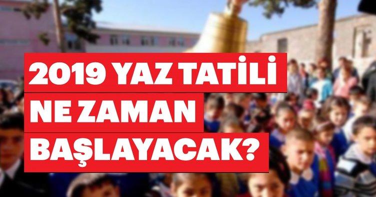 Meb Duyurdu Okullar Ne Zaman Kapanacak 2019 Yaz Tatili Hangi