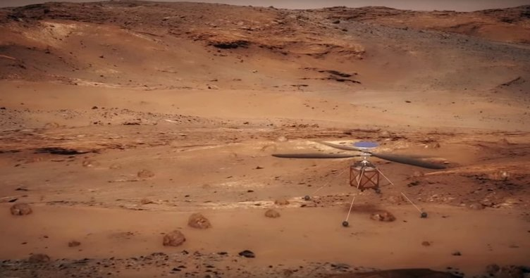 NASA, Mars'a helikopter götürüyor