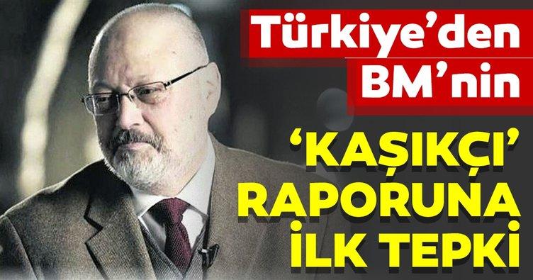 Çavuşoğlu'ndan BM'nin Kaşıkçı raporu hakkında açıklama!