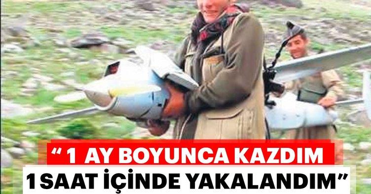 Drone eğitimi alan YPG'li Kulp'ta yakalandı