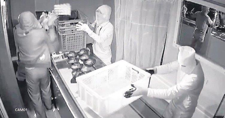 Ekmek kasalı çeteden 500 bin liralık soygun