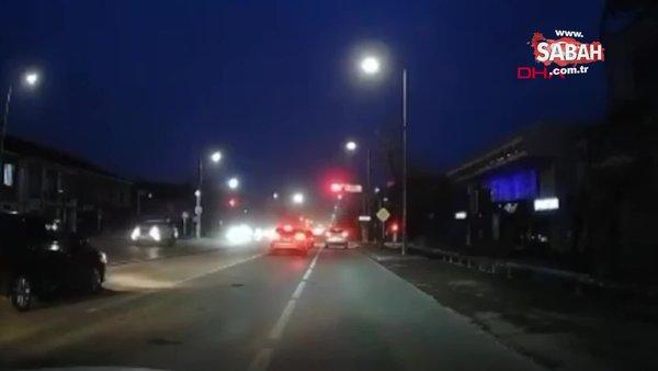 Otomobile bağladığı köpeği metrelerce sürükleyen vicdansız sürücü kamerada | Video