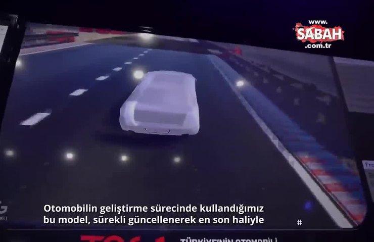 Yerli Otomobil, son teknolojiyle test ediliyor | Video