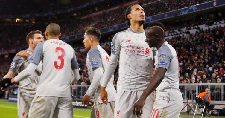 Liverpool Bayern Münih'i Allianz Arena'da 3 golle geçti!