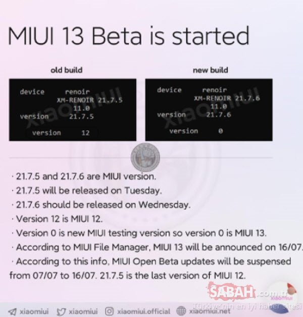 Xiaomi MIUI 13 arayüzü bu tarihte tanıtılacak