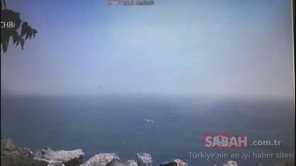 Helikopter kazasından şok görüntüler