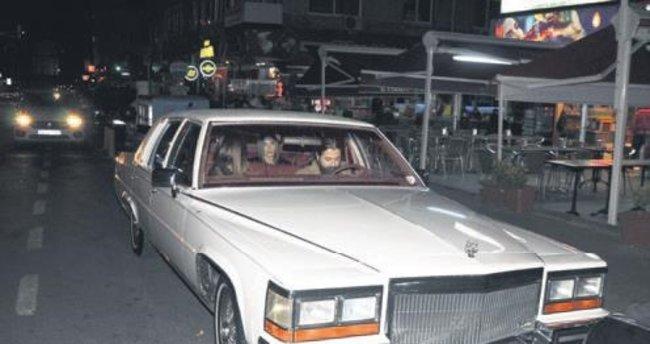 Avcı'nın antika otomobili