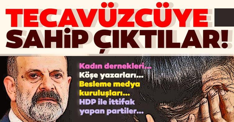 Kadın dernekleri… Köşe yazarları… Besleme medya kuruluşları… HDP ile ittifak yapan partiler…