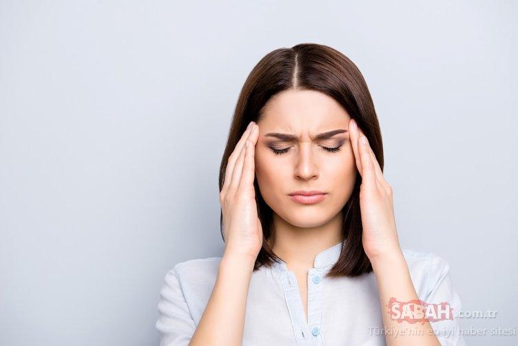 Uzmanlar uyardı! Bu besinler baş ağrısına sebep oluyor