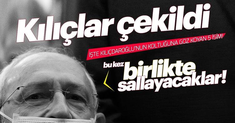 Kılıçlar çekildi! İşte Kılıçdaroğlu'nun koltuğuna göz koyan 5 isim!