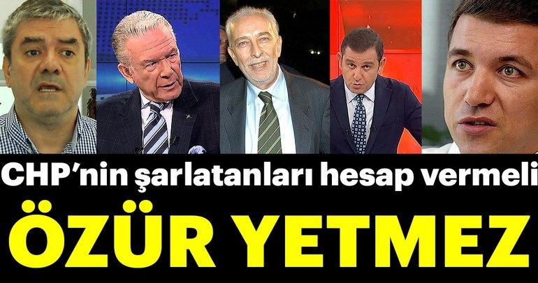 Özür yetmez CHP seçmenini ve halkı provoke edenler hesap vermeli