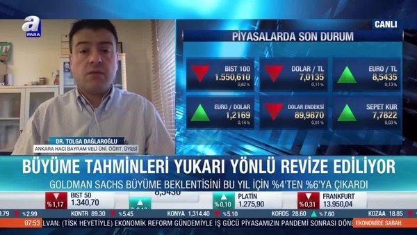 Dr. Tolga Dağlaroğlu: Tahviller faizlerinde artış nedeniyle borsalarda dalgalanma oluyor