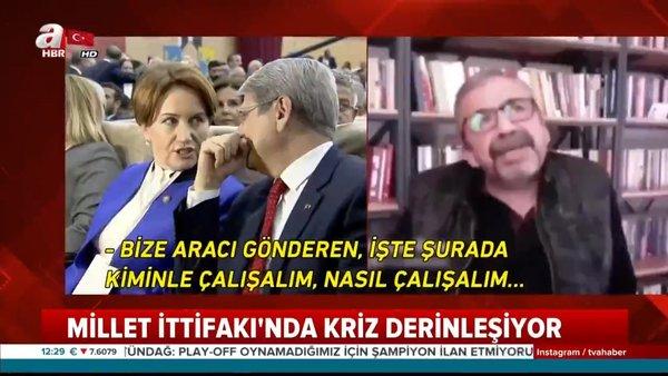 HDP'li Önder'in İyi Parti ile gizli işbirliği itirafında flaş gelişme! Meral Akşener'den... | Video