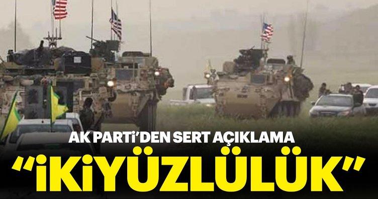 AK Parti'den flaş açıklama: İkiyüzlülüktür